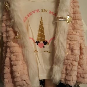 Little Lass Matching Sets - Little girls size 4 outfit